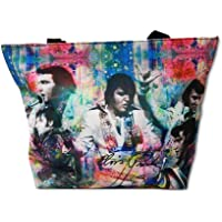 Elvis Presley Large Canvas Tote Bag