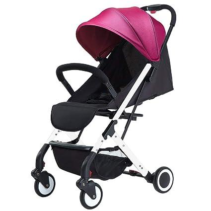 SED Trolley Child Take A Walk Carritos para bebés Light Folding Simple 1 Trolley de 3