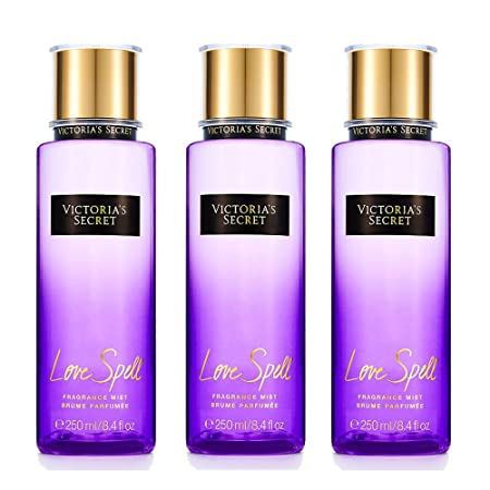 Victoria s secret Fantasies Fragrance Mist Love Spell Body Mist 3pcs set