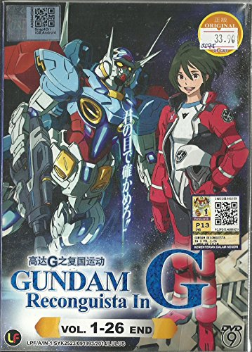 GUNDAM RECONGUISTA IN G - COMPLETE TV SERIES DVD BOX SET (1-26 EPISODES)