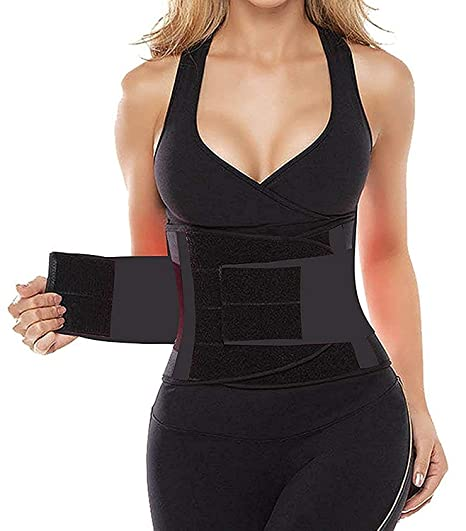 f0bdc663a SHAPERX Women s Waist Trainer Belt Waist Training Corset Waist Cincher  Slimming Body Shaper for an Hourglass