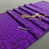 ShinyBeauty Aisle Runner Customize-100ftx3ft,Wedding Aisle Runner Ceremony Decoration Marriage Party Decor Carpet Roll-Purple