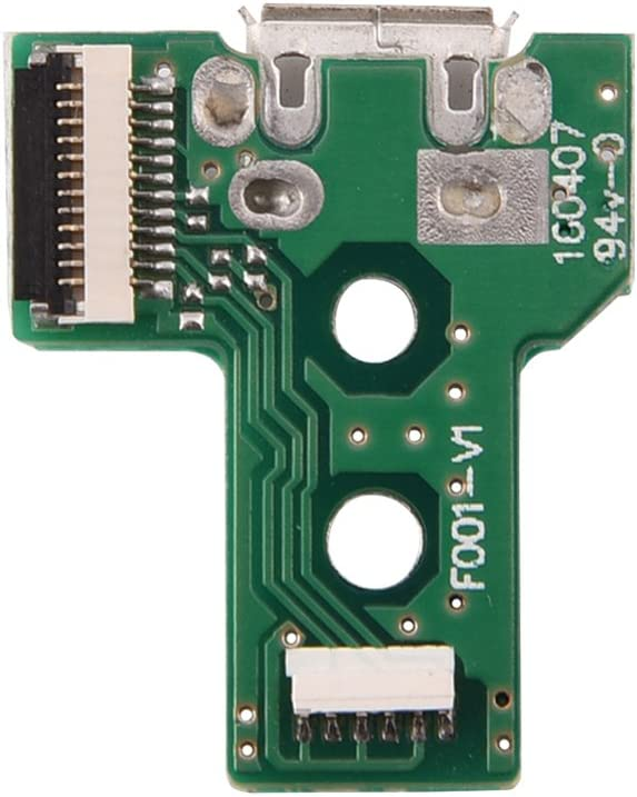 Replacement JDS030 F001 Board for Sony Playstation 4 PS4 Game Controller Tangxi RUSB Charging Port Socket Board for PS4
