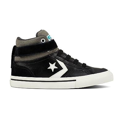 2ab8bd5adfd Converse Kids Pro Blaze Strap Stretch Hi Top Shoe - Black 13 Junior   Amazon.co.uk  Shoes   Bags