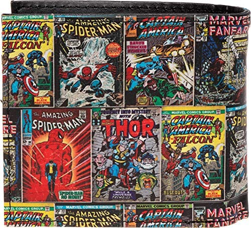 Marvel Comics Amazing Spider-Man Leather Trifold Wallet /& Tin RFID Safe NEW