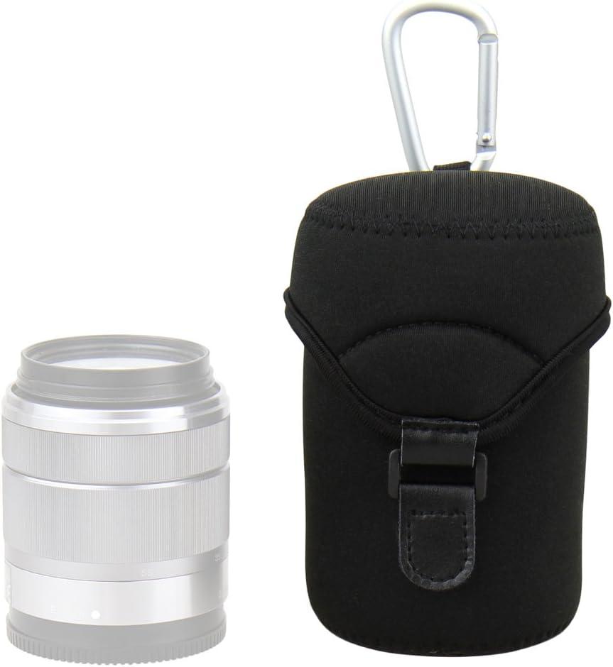 JJC L JN-L Neoprene Lens Bag [See Description for Compatibility]