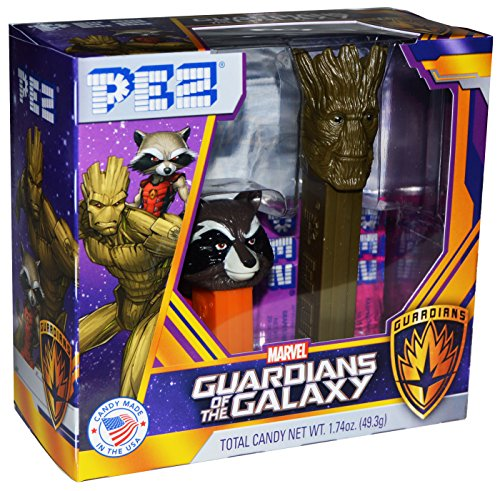Pez Marvel Guardians of the Galaxy Twin Pack Gift Set (Twin Pack) (Dispensers Pez Avengers)
