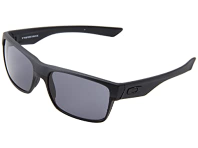 704f874312 Amazon.com  Oakley Twoface Sunglasses Steel Grey with Grey Lens + ...