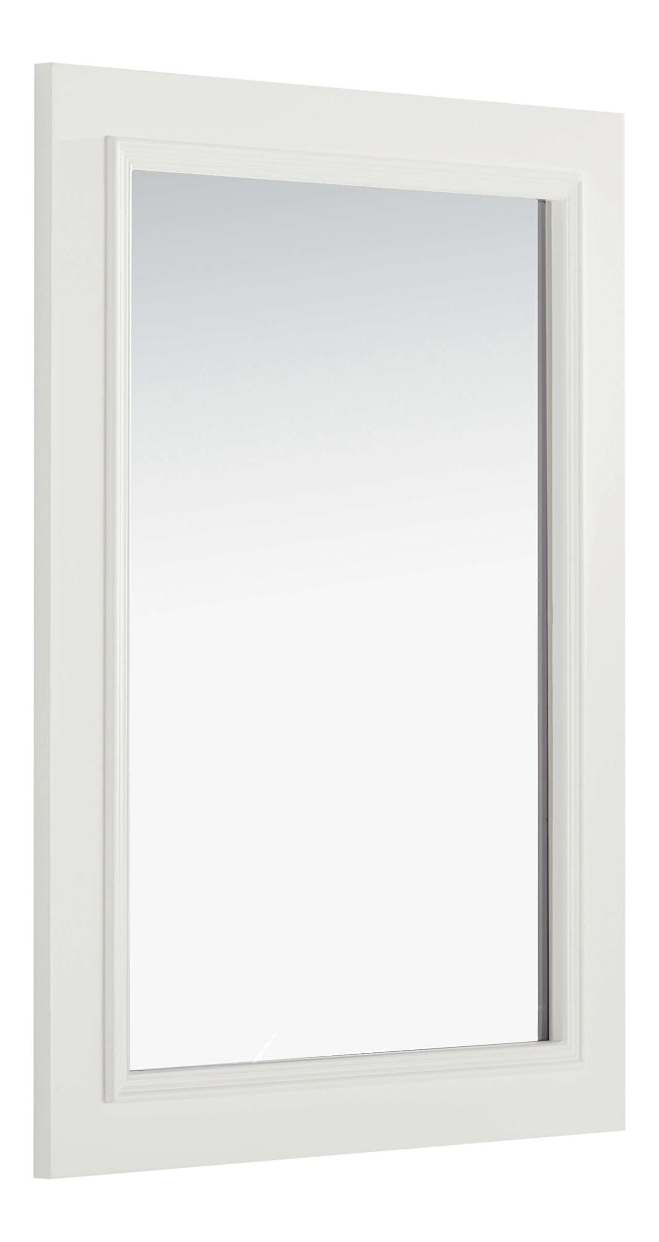 Simpli Home Cambridge Bath Vanity Mirror, 22'' x 30'', White