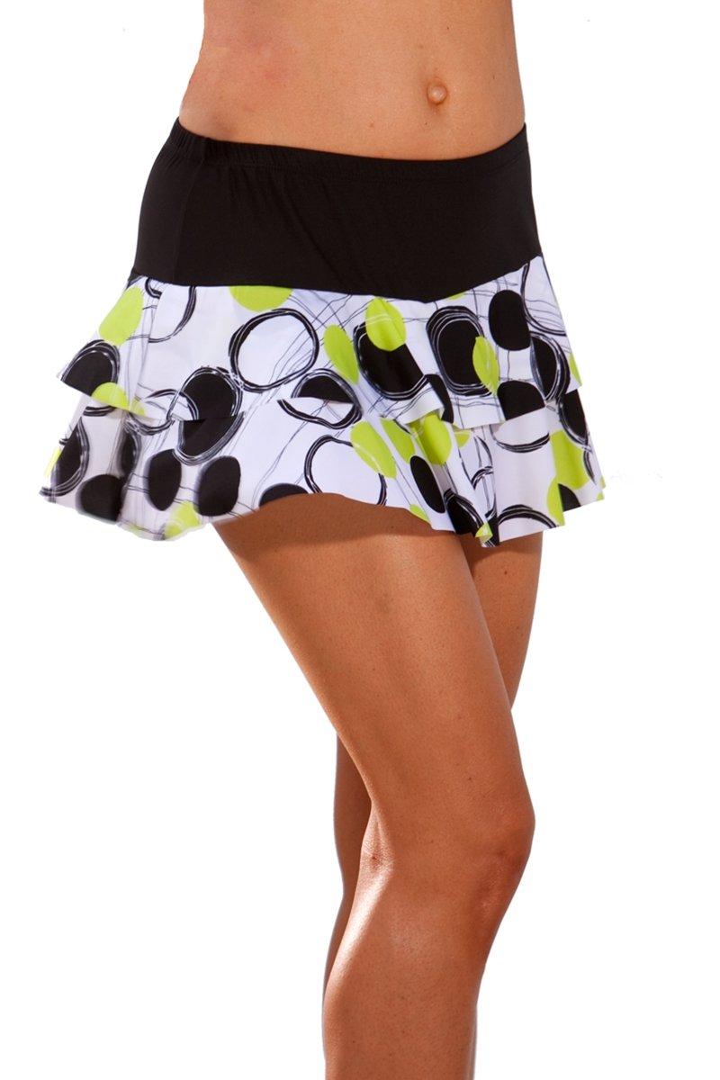 Show No Love Women's Ball Girl Flounce Tennis Skirt (size M)