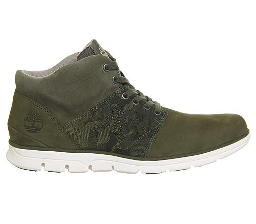 Timberland Bradstreet Half Cab Boots: Amazon.co.uk: Shoes & Bags