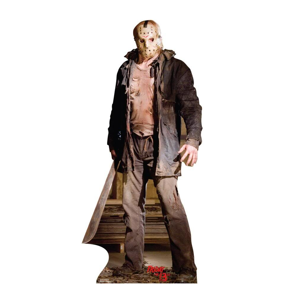 Jason Voorhees ''Knife'' - Friday the 13th (2009) - Advanced Graphics Life Size Cardboard Standup