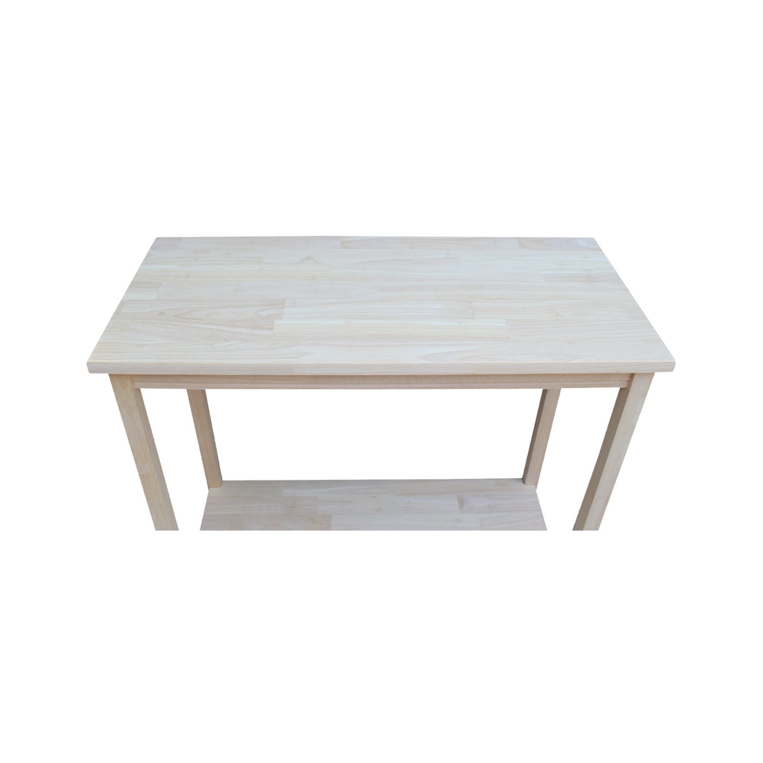 International Concepts OT-43 Accent Table, Unfinished by International Concepts (Image #7)
