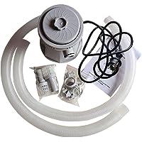 Depuradora de Filtro de Cartucho de Piscina Bomba de Filtro Eléctrico 20W para Piscinas sobre el Suelo Bañera de…
