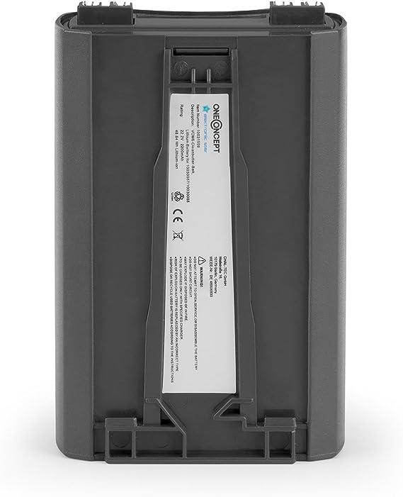 KLARSTEIN oneConcept VCM6 - Batería de Recambio de Litio, 22,2 V / 2200 mAh, Accesorio Aspiradora: Amazon.es: Hogar