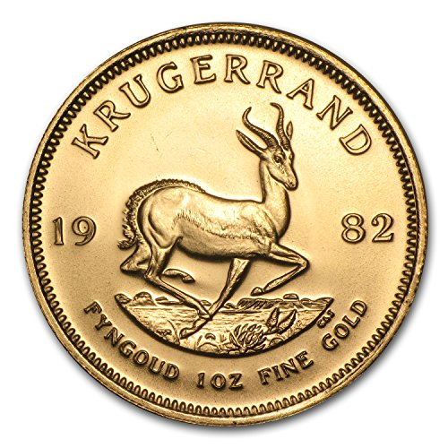 1982 ZA South Africa 1 oz Gold Krugerrand 1 OZ About Uncirculated ()