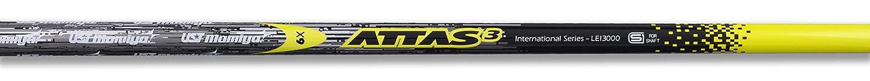 UST attas-3イエロー6シャフト+ Callaway OptiForce / XR 16ドライバー先端+グリップ B01M0G6KUU  ツアー スティッフTS