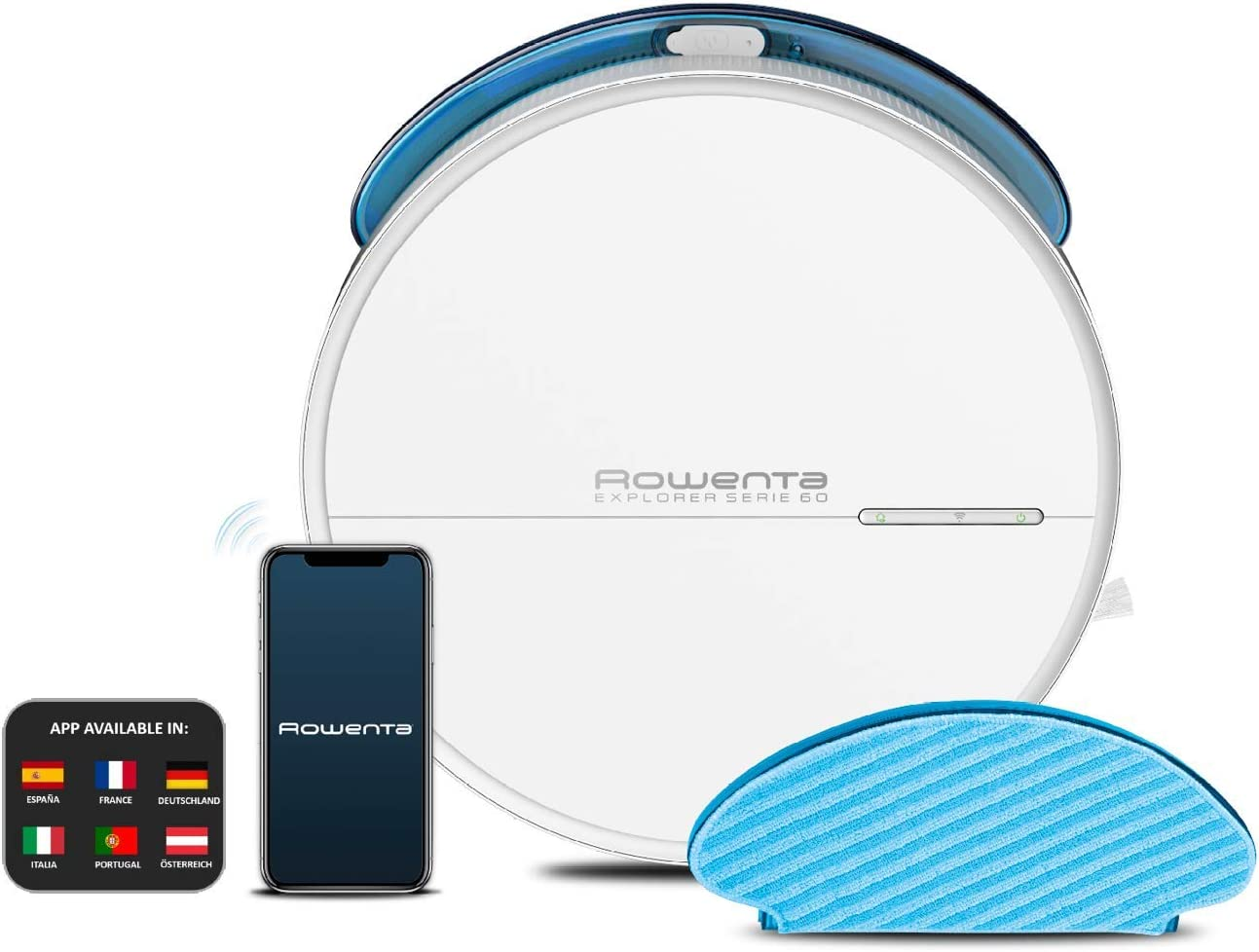 Rowenta Explorer Serie 60 Allergy Care Connect - Robot Aspirador ...