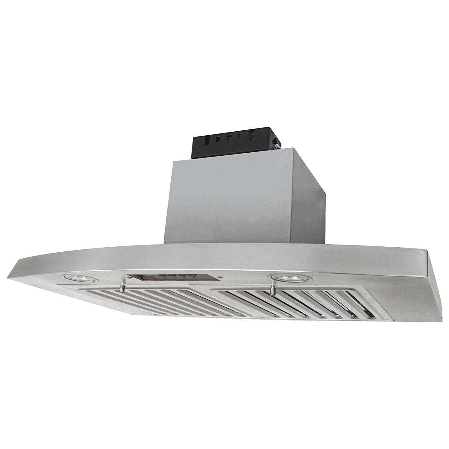 KOBE RAX2830SQB-2 Brillia 30-inch Under Cabinet Range Hood, 3-Speed, 650 CFM, LED Lights, Baffle Filters Kobe Range Hoods