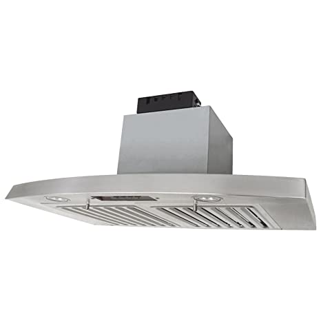 KOBE Range Hoods RA2836SQB 1 Under Cabinet Hood 3 Speed, 750 CFM With