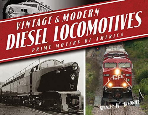 Vintage & Modern Diesel Locomotives: Prime Movers of (American Diesel Locomotive)