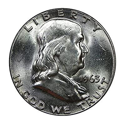 1963 U.S. Franklin 90% Silver Half Dollar - Mint State Condition