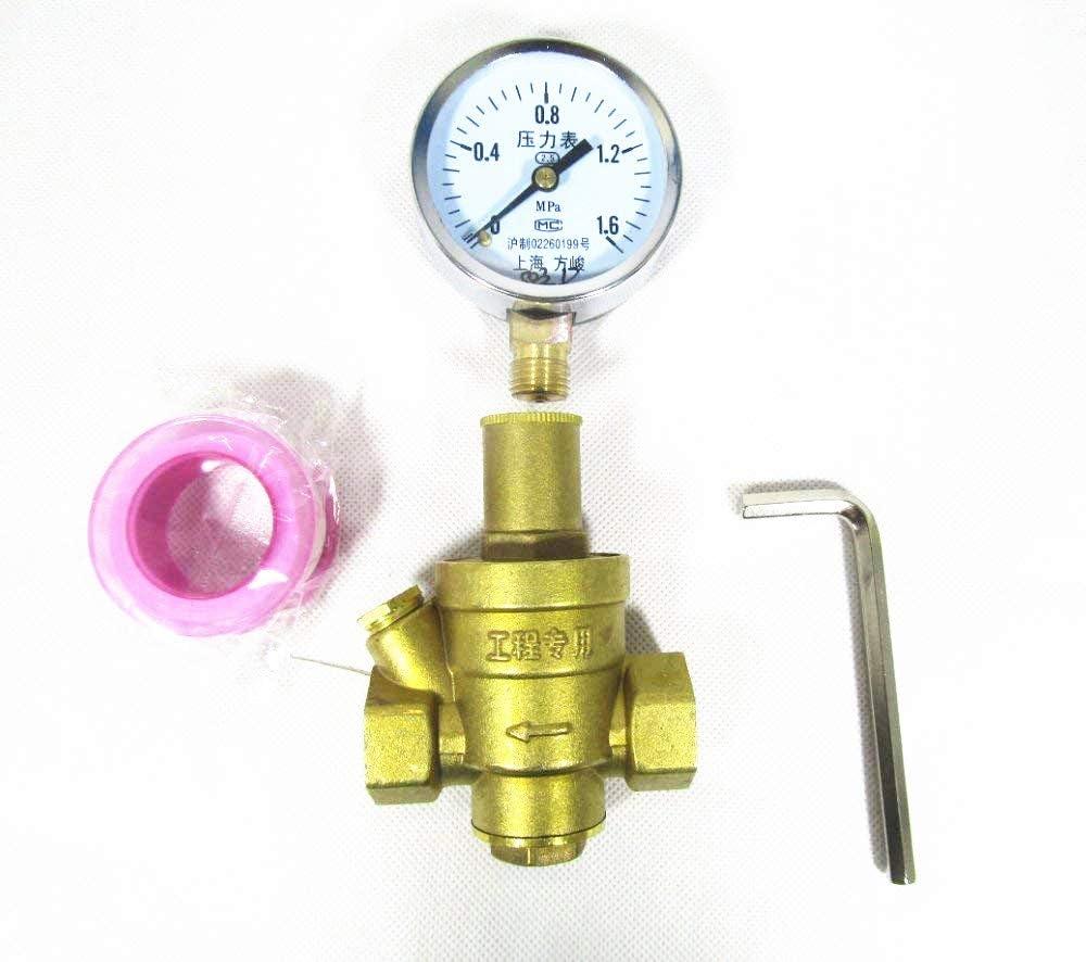 water pressure regulator location