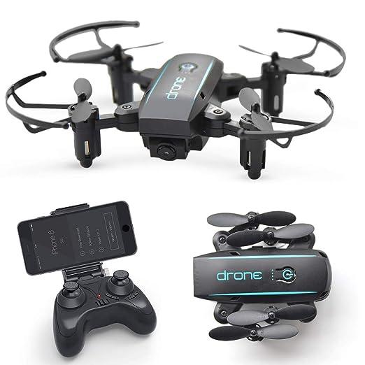 Lily Drone de Control Remoto aéreo HD Plegable con cámara WiFi FPV ...