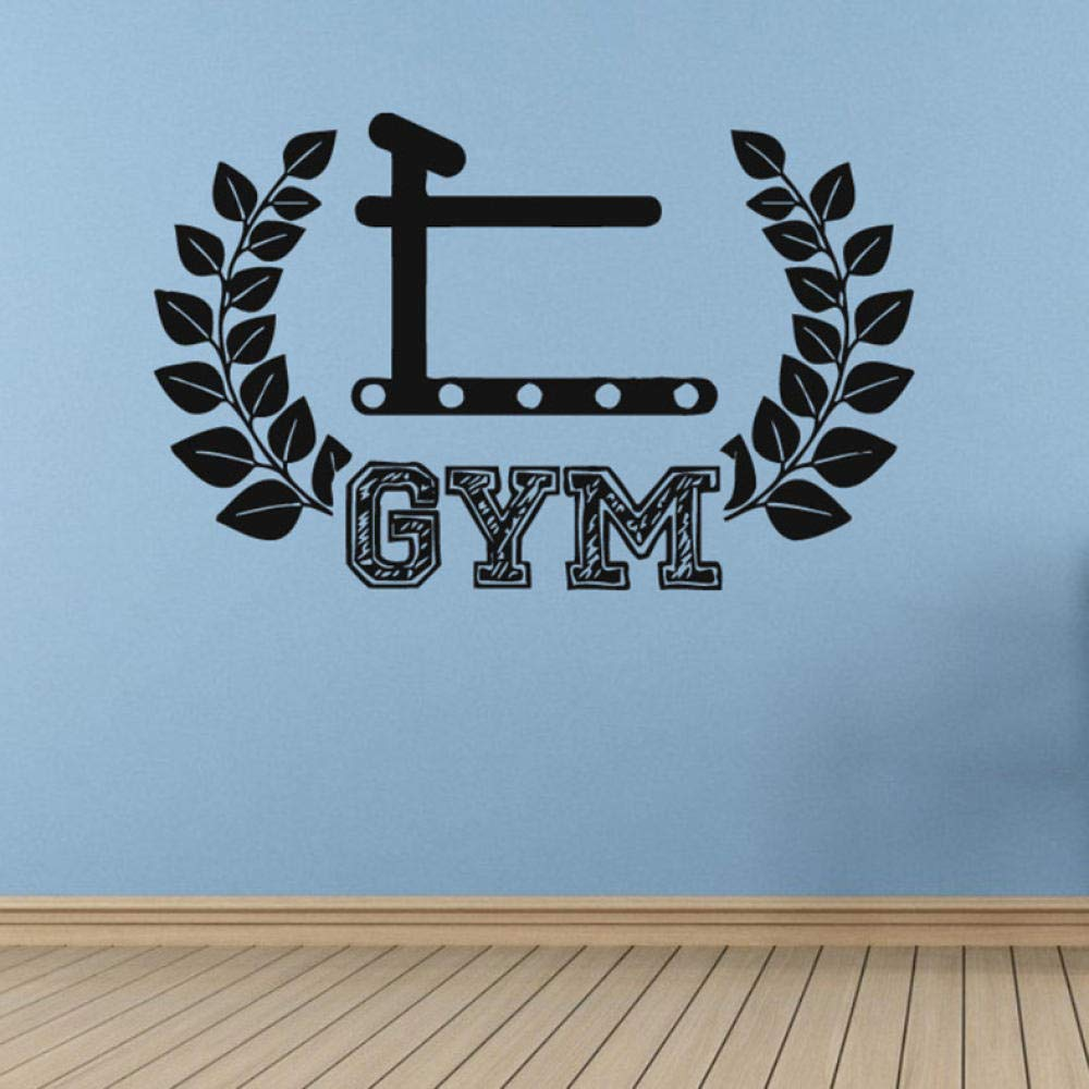 Gym Fitness Etiqueta de la pared Arte Tatuajes de pared Mural ...