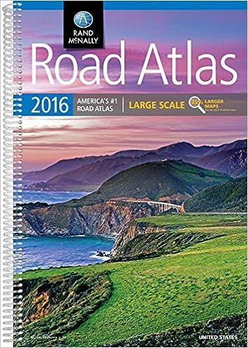 Rand McNally 2016 Large Scale Road Atlas (Rand McNally Road Atlas)