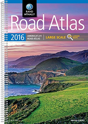 Rand McNally 2016 Large Scale Road Atlas (Rand - Where Is Rand