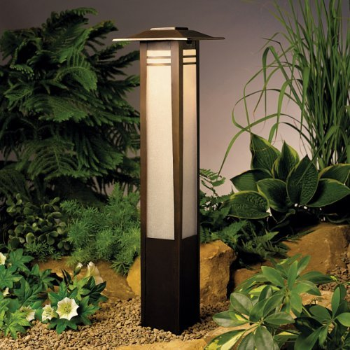 Zen Garden Bollard Path Light