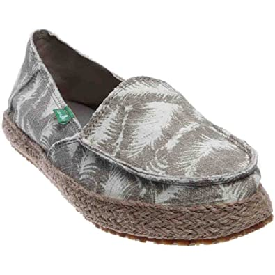 Womens Funky Fiona Loafers Natural Hazy Palms 10 oWubfU4