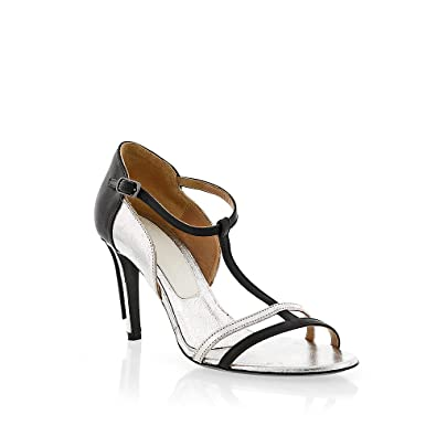 Maison Margiela Leather T-Strap Sandals outlet with paypal order free shipping shop offer clearance cheap real EG4rq4A