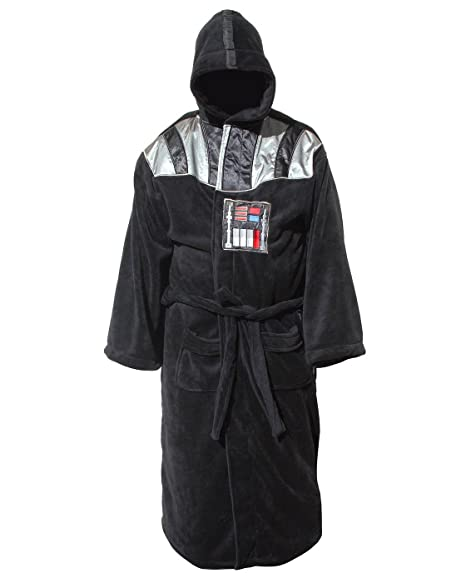 Black Star Wars Black Galactic Empire Bathrobe