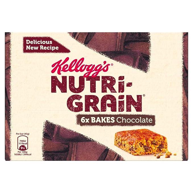 Kelloggs, Barrita de cereal (Almendras y chocolate) - 2 de 4 barritas (