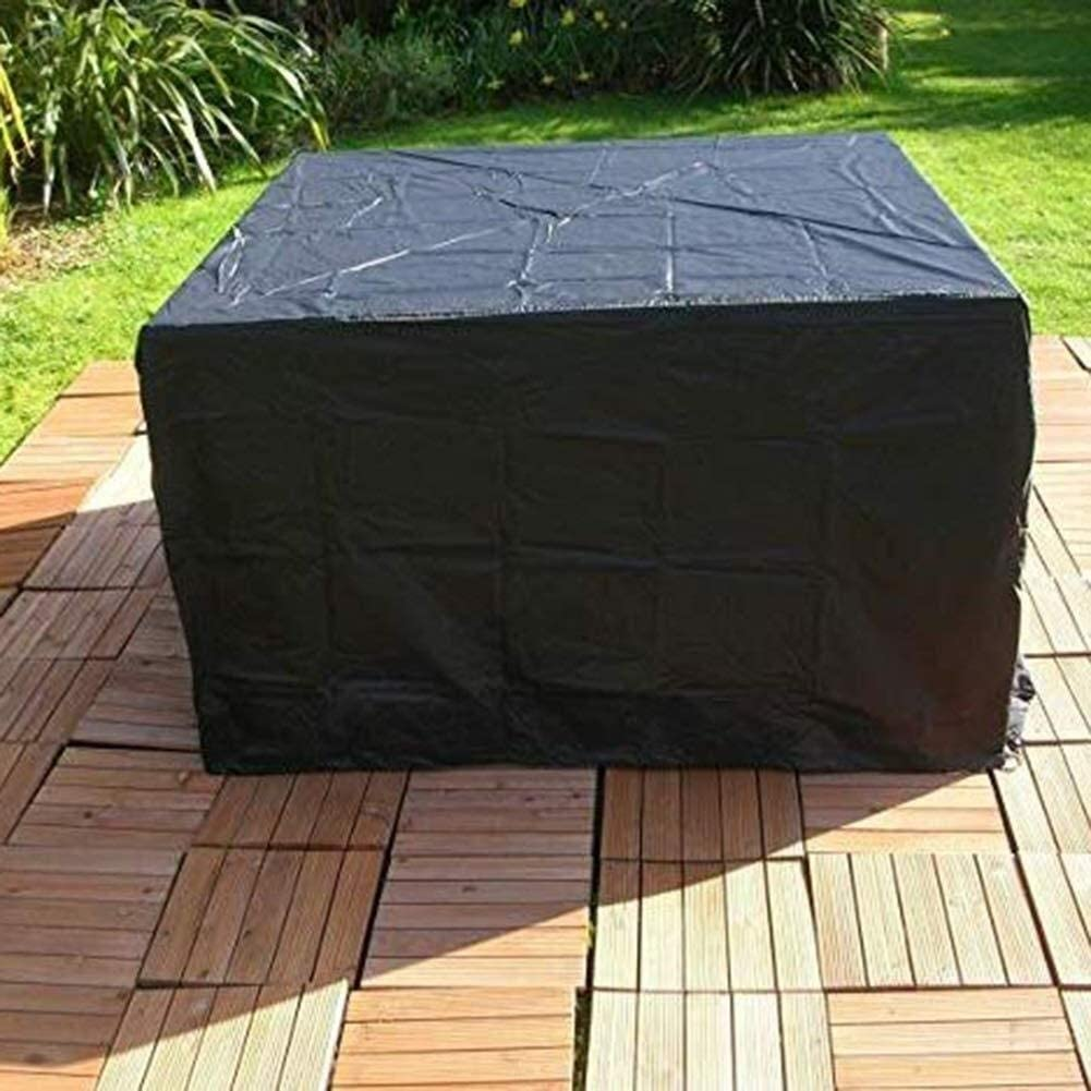 Outdoor Housse Mobilier de Jardin Imperméable Patio Table en rotin Chaise Cube Set Park