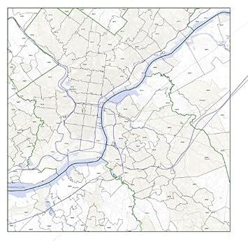 Amazon.com: Camden, NJ ZIP Code Map Not Laminated: Home & Kitchen on