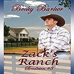Zack's Ranch: Bridleton, Book 3 | Becky Barker