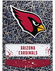 2018 Panini NFL Stickers Collection #383 Arizona Cardinals Logo Foil Official Football Sticker