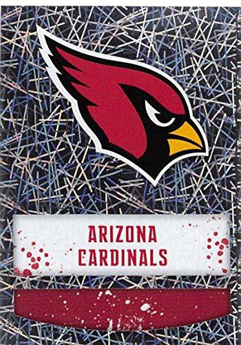 2018 Panini NFL Stickers Collection #383 Arizona Cardinals Logo Foil Official Football - Arizona Collection