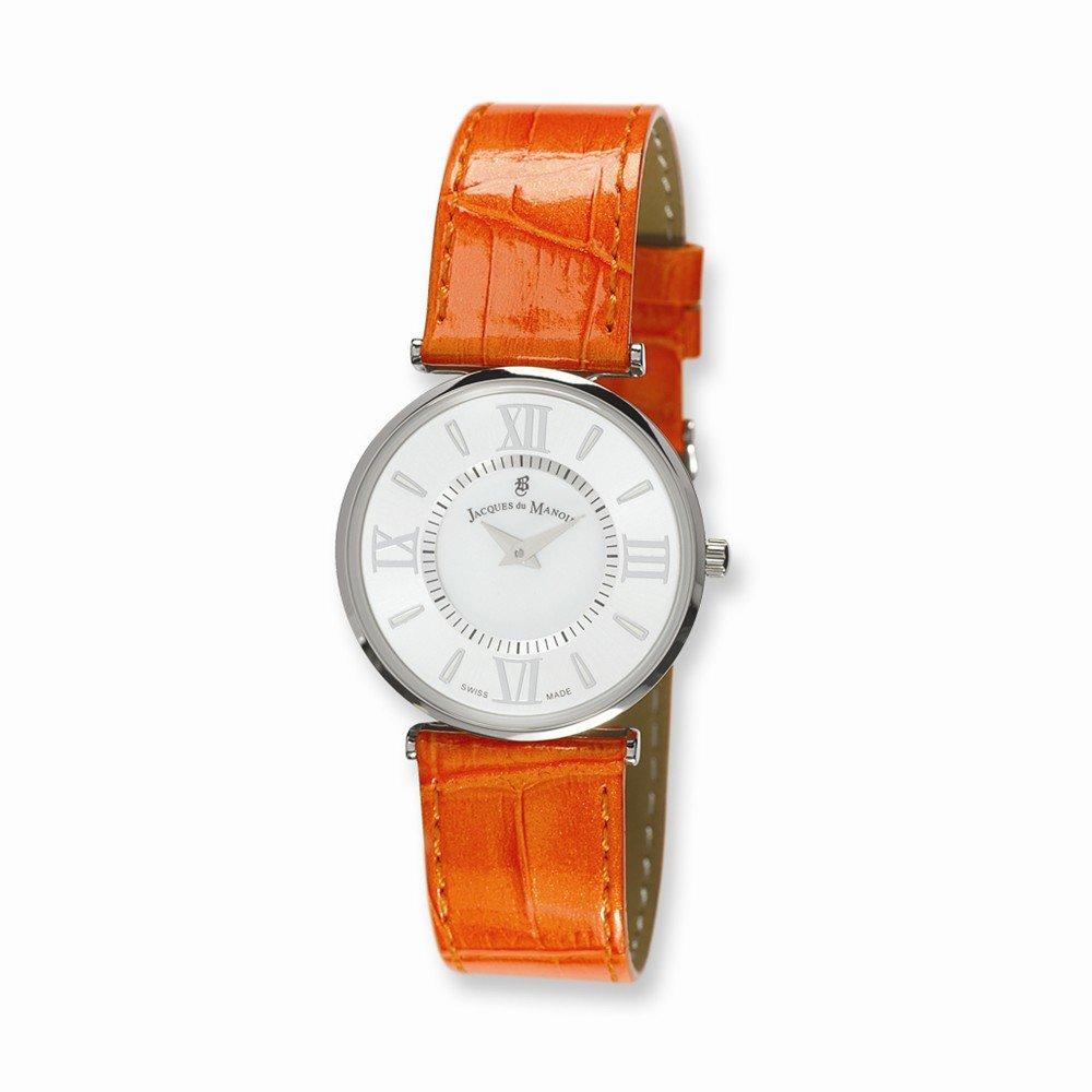 Top 10 Jewelry Gift Ladies Jacques du Manoir Orange Strap Watch