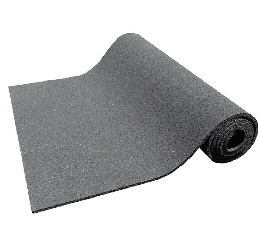 Kharma Khare Legacy Reincarnated Non Slip Eco Friendly Yoga Mat (7 Mm - Black)