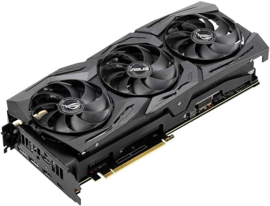Asus ROG Strix GeForce RTX 2070 SUPER OC Edition 8 GB GDDR6, Scheda Video Gaming, LED RGB, Aura Sync e Dissipatore Triventola per Gaming, Alti Refresh Rate e VR