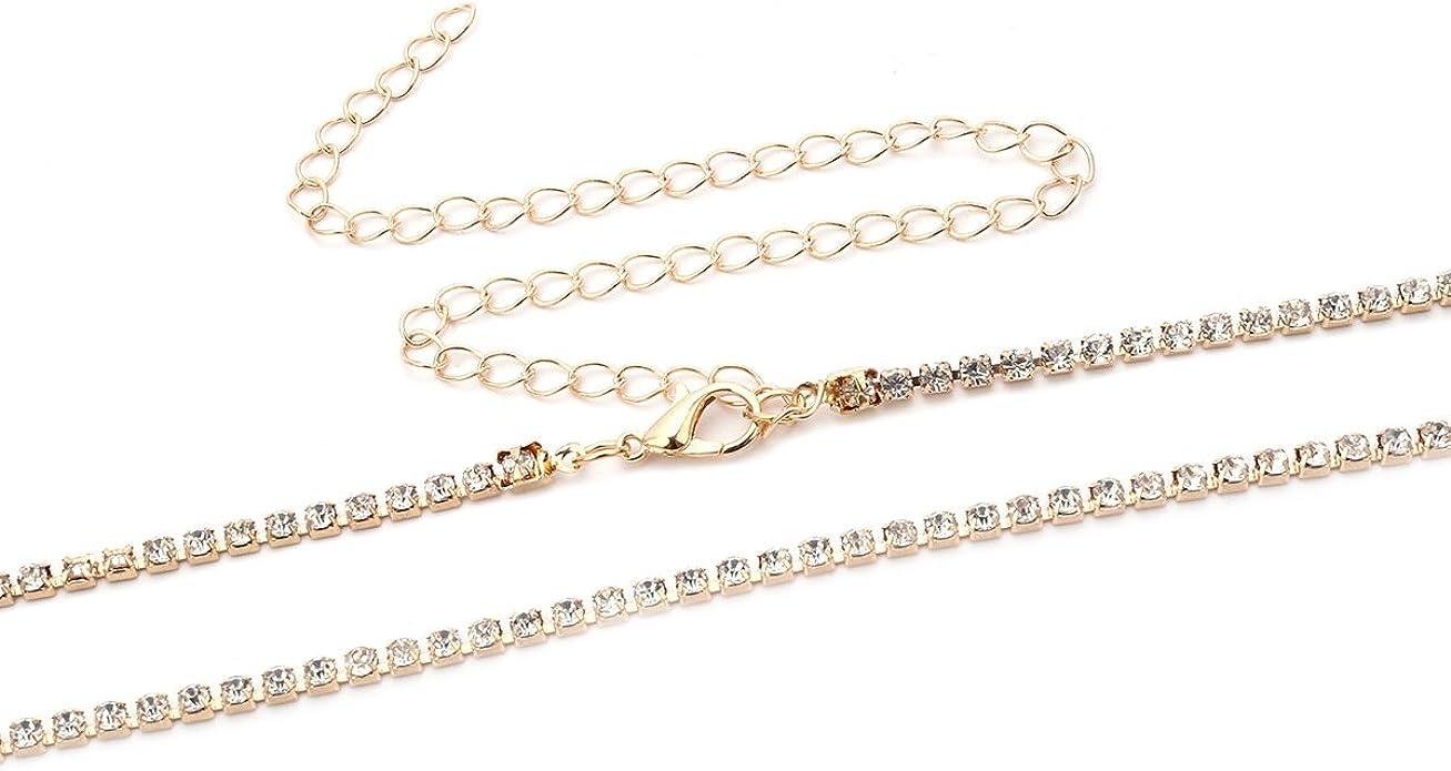 Bikini Body Chain Waist Belly Beach Harness Silver Beads Link Necklace Jewelry