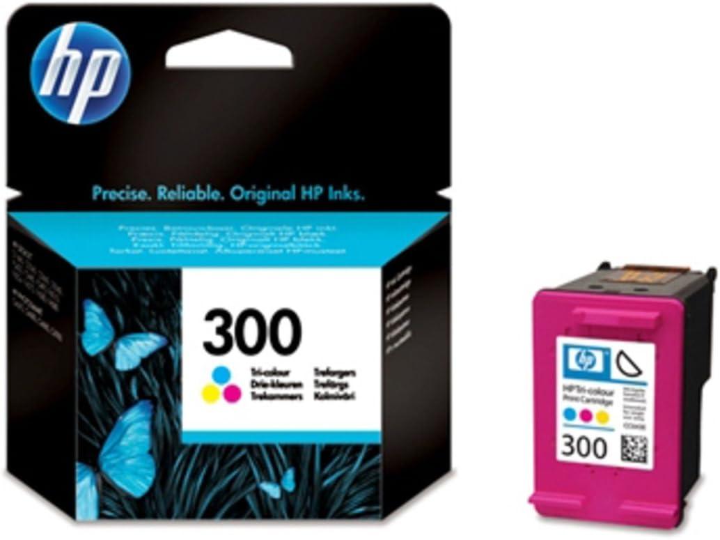 HP CC643EE NO.300 Inkjet/inyección de Tinta Cartucho Original