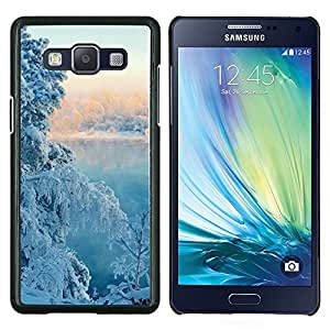 """For Samsung Galaxy A5 ( A5000 ) 2014 Version , S-type Naturaleza Fantasy Sunset"""" - Arte & diseño plástico duro Fundas Cover Cubre Hard Case Cover"""