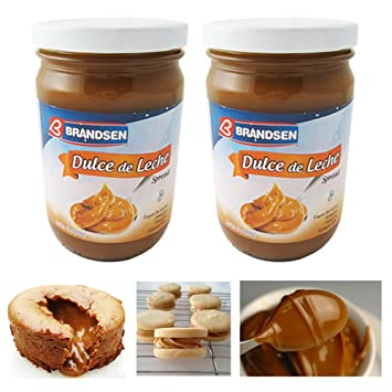 Amazon.com : 2 Jars Dulce De Leche Milk Caramel Spread Argentina Arequipe Kosher Brandsen Lot : Office Products