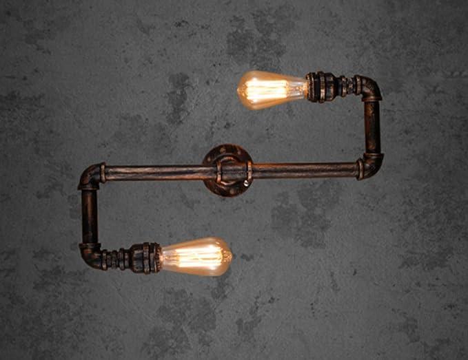 Lampade da muro stile industriale: lampade da parete illuminazione