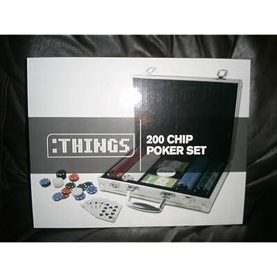 200 Chip Poker Set In Aluminium Case: Juguetes y juegos